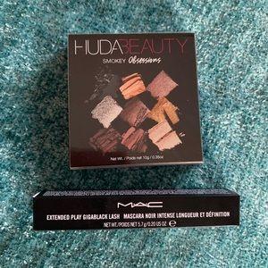 Huda Beauty Smokey Obsessions + MAC Mascara Set